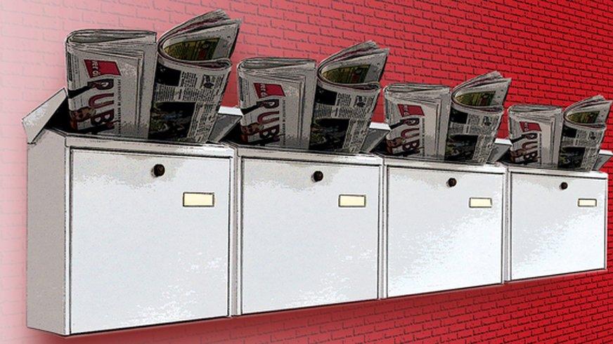 Grafilk Zeitungszusteller