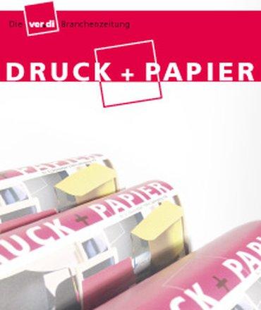 Motiv Druck und Papier