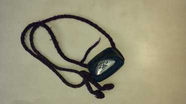 Strinlampe mit Kordel