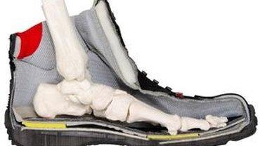 Schuhquerschnitt